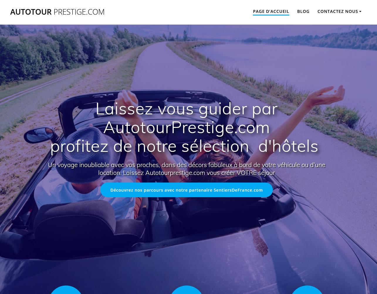 Autotours en amoureux avec  Autotour Prestige.com